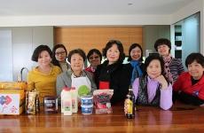 澳大利亚广西联谊会Tiramisu蛋糕制作活动
